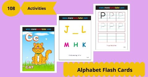 Alphabet Flashcards Activity Flash Cards
